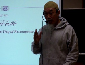 Sheikh Hussein Yee at As-salaam Masjid Camp